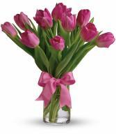 Teleflora's Precious Pink Tulips
