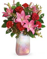 Teleflora's Pretty In Quartz Bouquet Arrangement