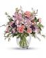 Teleflora's Pretty Pastel Bouquet Fresh Mixed Flower Arrangement