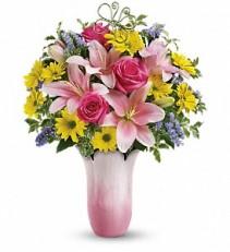 Telefloras Pretty Petal Vase