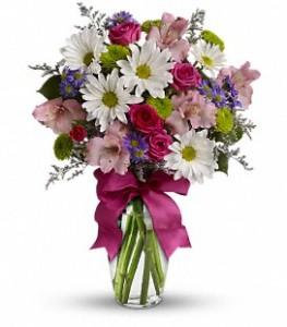 Teleflora's Pretty Please Fresh Flowers in Presque Isle, ME | COOK FLORIST, INC.