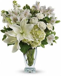 Teleflora's Purest Love Bouquet Arrangement