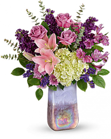 Teleflora's Purple Swirls Bouquet
