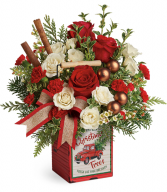 Teleflora's Quaint Christmas Bouquet Christmas