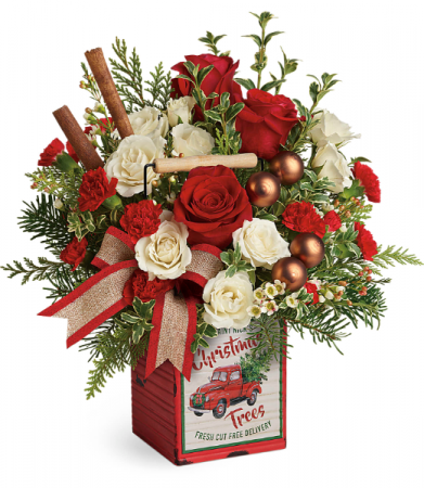 Teleflora's Quaint Christmas Bouquet Christmas