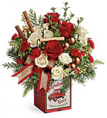 Teleflora's Quaint Christmas T19X605B Bouquet