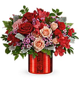 Teleflora's Red Hot Love T21V405B Bouquet