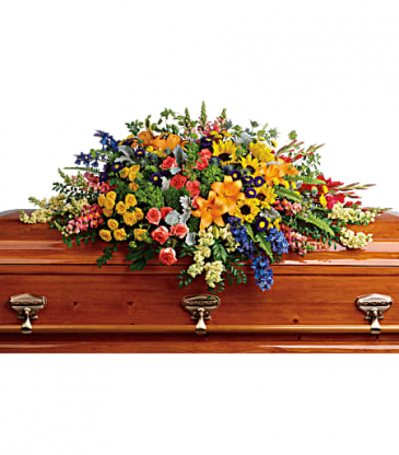 Teleflora's Reflections Casket Spray