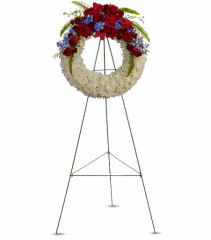 Teleflora's Reflections of Glory Standing Wreath