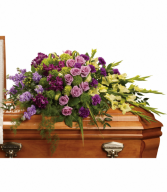 Teleflora's Reflections Of Gratitude Casket Spray