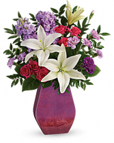 Teleflora's Regal Blossoms Bouquet  Vase Arrangement