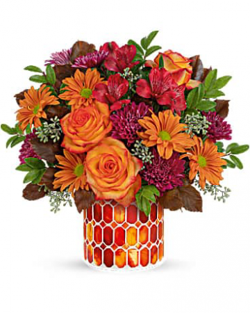Teleflora's Resplendent Fall Bouquet