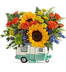 Teleflora's Retro Road Tripper Bouquet  in Clinton, AR | Main Street Florist & Gifts