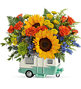 Teleflora's Retro Road Tripper Bouquet