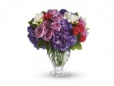 Teleflora's Rhapsody in Purple  T511A All, Anniversary, Birthday, Sympathy, Get Well