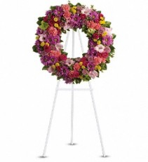 Teleflora's Ringed by Love Standing Wreath