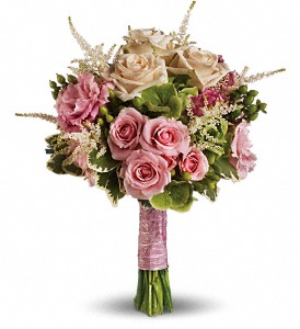 Teleflora's Rose Meadow Bouquet Wedding Bouquet
