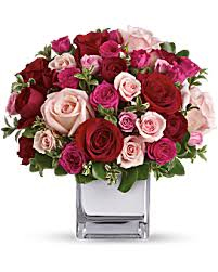 Teleflora's Rose Medley Rose Arrangement