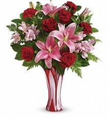 Teleflora's Rose Nouveau Bouquet