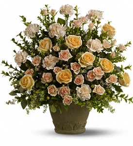 Teleflora's Rose Remembrance  Urn Arrangement in Auburndale, FL | The House of Flowers