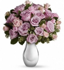 Teleflora's Roses and Moonlight Bouquet Rose Arrangement