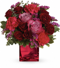 Ruby Rapture Fresh Vase