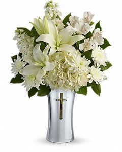 Teleflora's Sacred Cross Bouquet  in Auburndale, FL | The House of Flowers