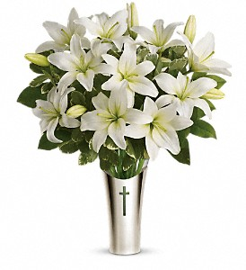 Teleflora's Sacred Cross Bouquet