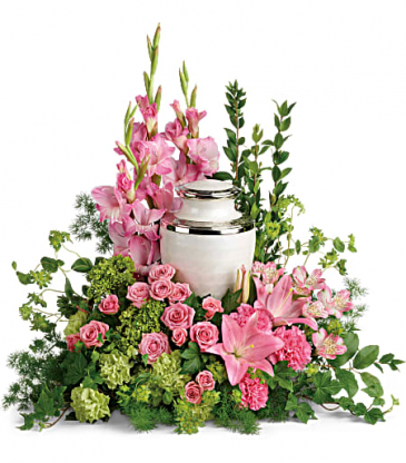 Teleflora's Sacred Solace Cremation Tribute
