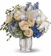 Seaside Centerpiece All-Around Floral Arrangement