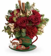 Teleflora's Send A Hug Night Before Christmas Holiday [T12x500A]