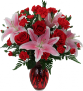 Sensation - 943 Vase Bouquet