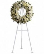 Teleflora's Serenity Wreath