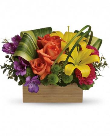 Teleflora's Shades of Brilliance  Flower Arrangement