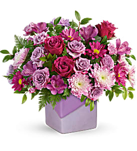 Teleflora's Shades Of Lavender T20M405B Bouquet in Moses Lake, WA | FLORAL OCCASIONS