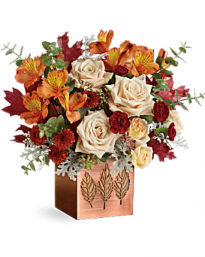 Teleflora's Shimmering Leaves Bouquet  in Cloquet, MN | SKUTEVIKS FLORAL
