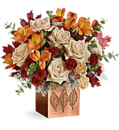 Teleflora's Shimmering Leaves T19T305B Bouquet