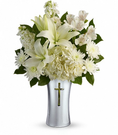 Teleflora's Shining Spirit Fresh Vase