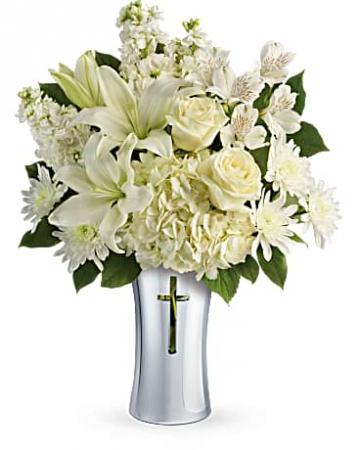Teleflora's Shinning Spirit  Vase arrangement