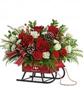 Teleflora's Sleigh Bells Bouquet
