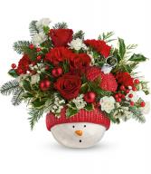 Teleflora's Snowman Ornament Bouquet Only 8 left!