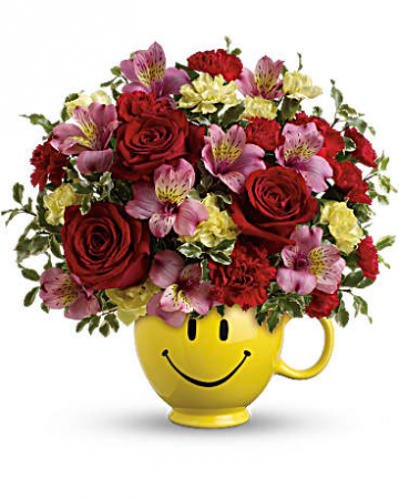 Teleflora's So happy You're Mine  Flower arrangement