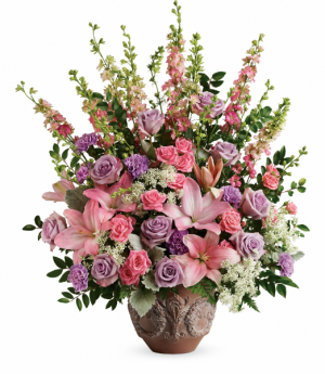 Teleflora's Soft Blush T279-3B Bouquet in Moses Lake, WA | FLORAL OCCASIONS