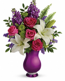 Teleflora's Sparkle and Shine bouquet Mother's Day