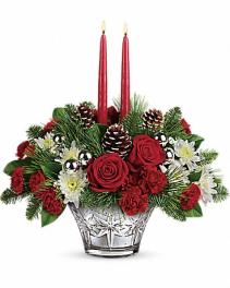 Teleflora's Sparkling Star  Christmas arrangement