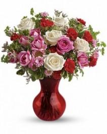Teleflora's Splendid in Red Bouquet