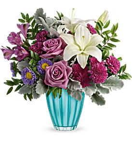 Teleflora's Spring In Your Step Vase
