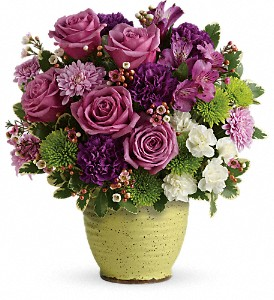 Teleflora's Spring Speckle T18E300B Bouquet  in Moses Lake, WA | FLORAL OCCASIONS
