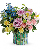 Teleflora's Stained Glass Blooms Bouquet