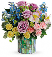 Teleflora's Stained Glass Blooms T20S105B Bouquet